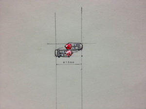 二重奏のデザイン画