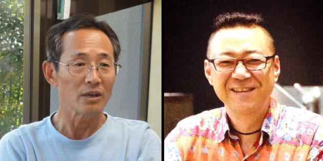 清水氏(左)と深澤氏(右)