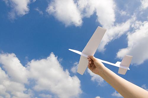 もしパイロットになって空を飛んでいたら、
