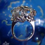 水紋のリング