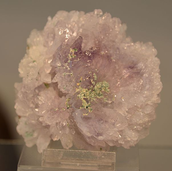 Amethyst flower crystal
