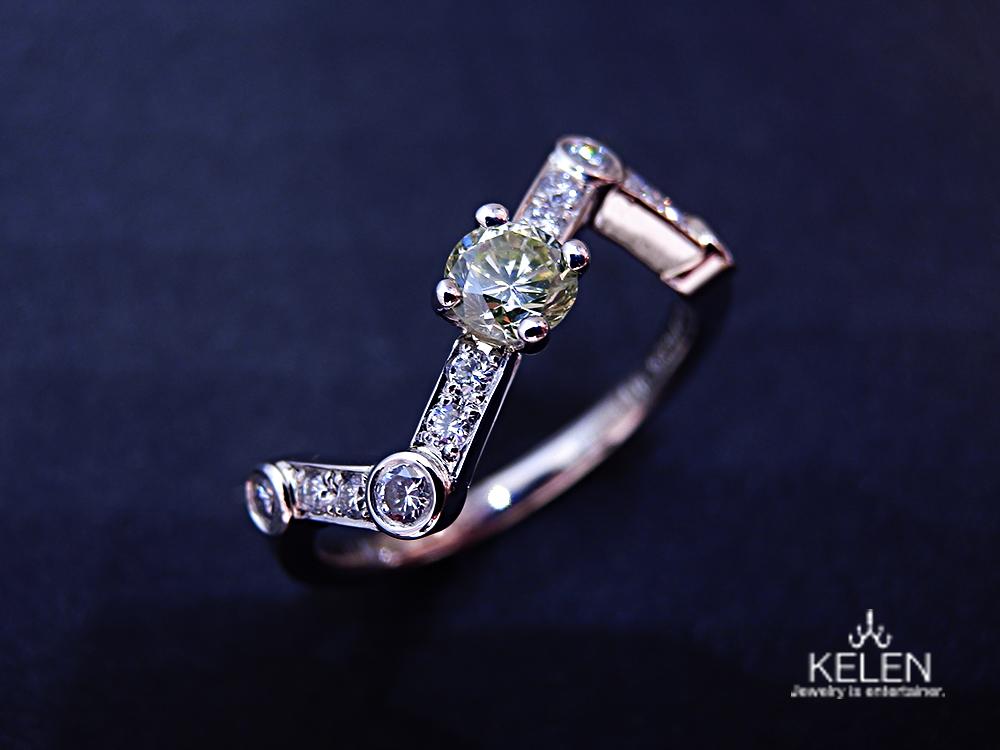 星座の婚約指輪